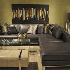 Modern Living Room by Kom Furniture