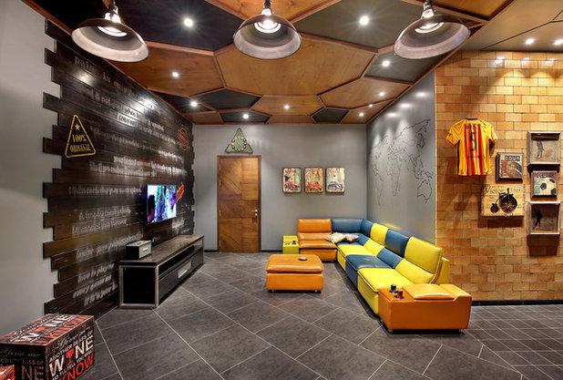 Living Room by Usine Studio