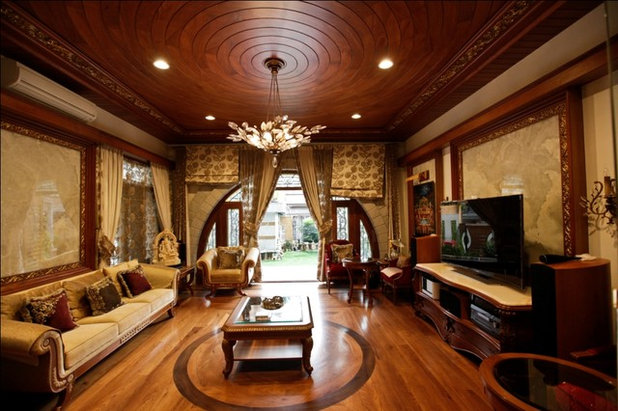 Indian Living Room by Kumar Consultants