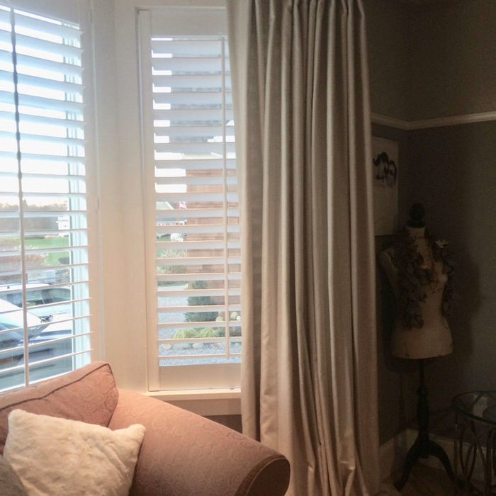 Shutters And Draperies
