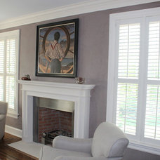 Traditional Living Room by Mitchell Designs LLC