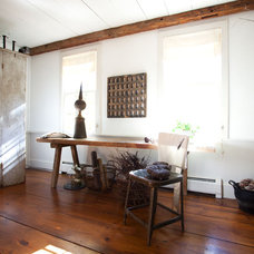 Farmhouse Living Room by Tess Fine