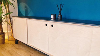 Sideboard and Record player stand