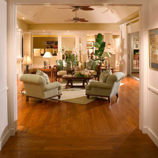 Traditional Living Room by Lancaster Interior Design