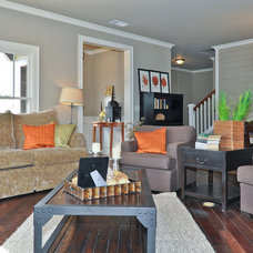 Living Room by Signature Homes