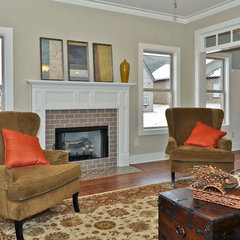 traditional living room by Signature Homes