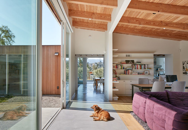 Midcentury Living Room by Malcolm Davis Architecture