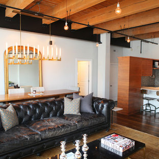 75 Most Popular Industrial Living Room Design Ideas for ...