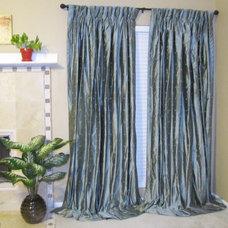 Contemporary Curtains by Drea Custom Designs