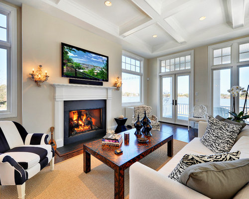 Traditional Living Rooms. Living room  traditional brown floor living idea in Philadelphia with a standard fireplace and 15 Best Traditional Room Ideas Designs Houzz