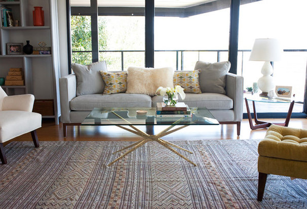 Modern Living Room by Taylor Jacobson Interior Design
