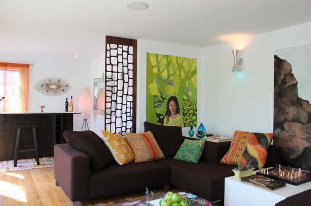 Midcentury Living Room by Vidal Design Collaborative