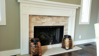 Silver Maple Fireplace
