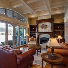 Traditional Living Room by Norelco Cabinets Ltd