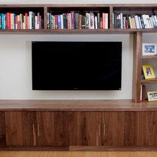 Modern Living Room by KCS Design