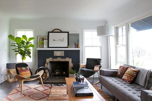 Mid-Century Wohnbereich by Natalie Myers