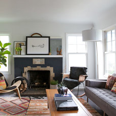 Midcentury Living Room by Natalie Myers
