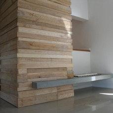 Contemporary Living Room by Moos Design Studio