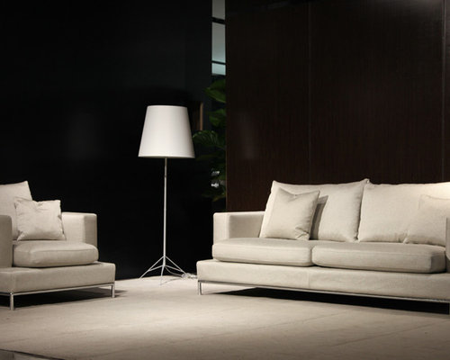 Contemporary living room idea in Orange County : simena sectional - Sectionals, Sofas & Couches