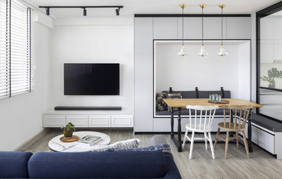 Houzz Tour: Clever Space Planning Makes This Flat's Simple Style Super