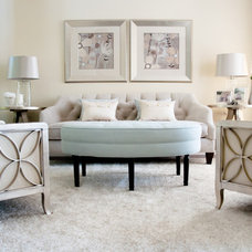 Contemporary Living Room by Christina Jeffrey Lifestyle