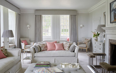 Houzz Tour: Calming Hues for a 16th-Century English Manor