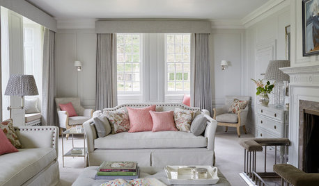 Houzz Tour: Calming Hues Transform a 16th Century Manor House