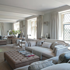 Farmhouse Living Room by Sims Hilditch