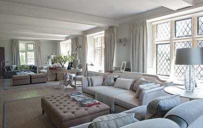 Houzz Tour: Country Style With a Chic Twist in the Cotswolds