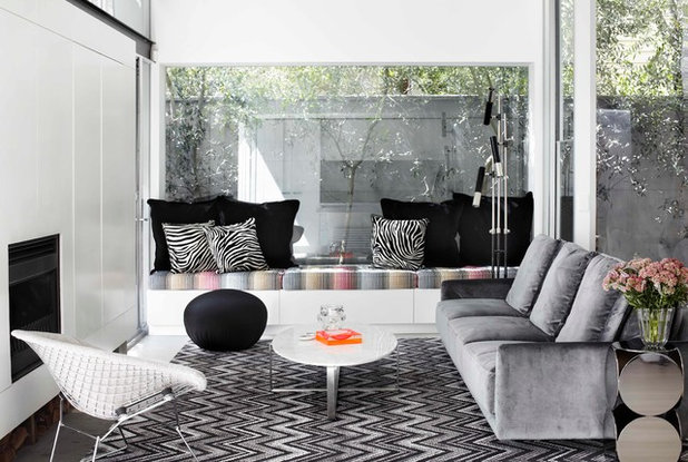 Contemporary Living Room Sinclair Residence
