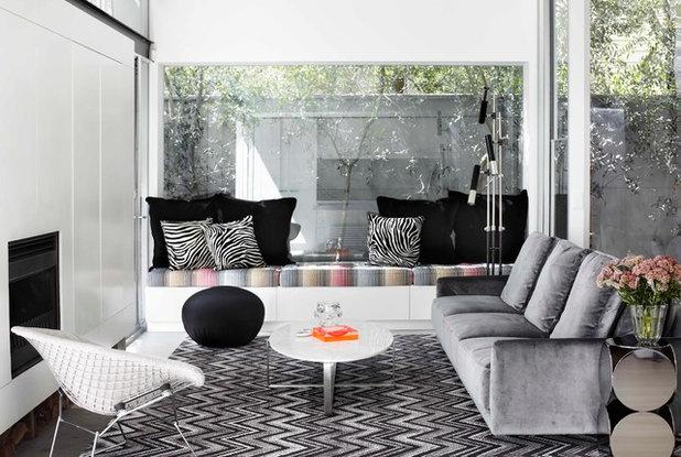 Contemporary Living Room Sinclair Residence