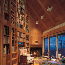 Contemporary Living Room by Samuel Sherwood Cleveland, Architect