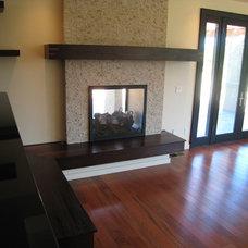 Modern Living Room by Haxton design-build llc