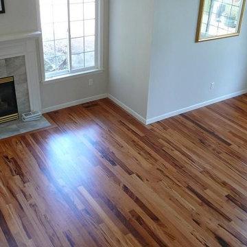 Site Finished Hardwood Floors