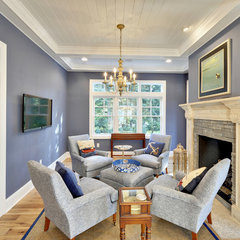 living room by Echelon Custom Homes
