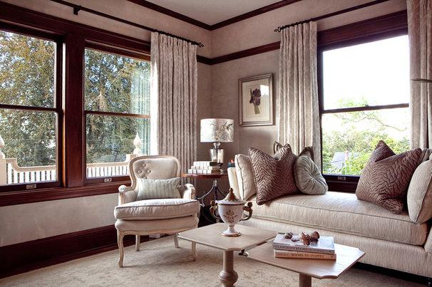 Traditional Living Room by Garrison Hullinger Interior Design Inc.