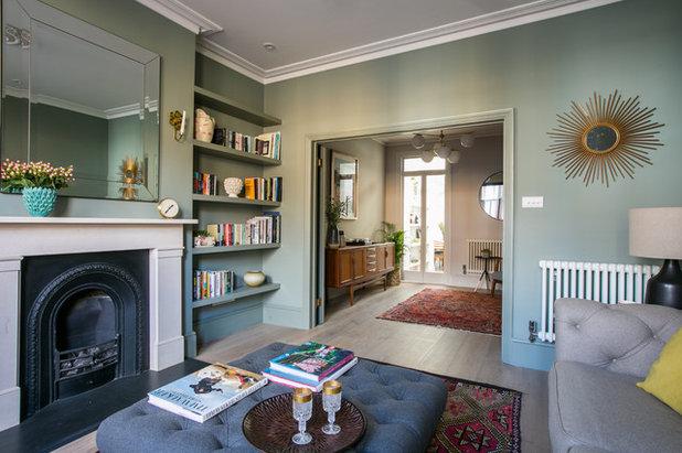 Contemporary Living Room by Otta Design