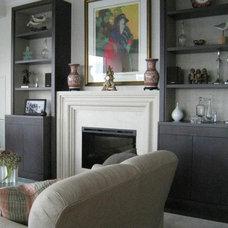 Traditional Living Room by David Nosella Interior Design