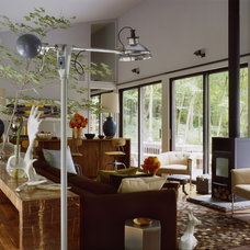 Eclectic Living Room by Incorporated