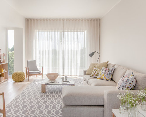 Ceiling Curtains Living Room Design Ideas Remodels amp Photos Houzz