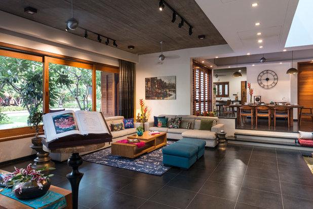 Contemporary Living Room by Studio Lagom