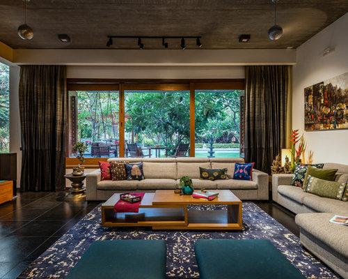 groes asiatisches wohnzimmer in sonstige - Asiatisches Wohnzimmer