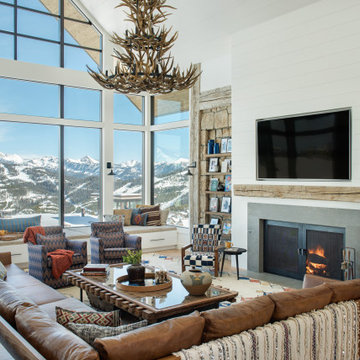Ski Chalet Mountain Mama Project | Living Room