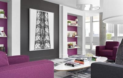 Deep Purple Dreams for Rooms