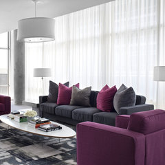 modern living room by Niki Papadopoulos