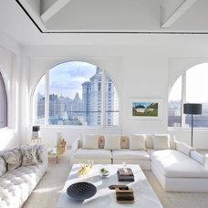 Contemporary Living Room by Ghislaine Viñas Interior Design