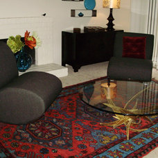 Eclectic Living Room by I Spy Decor