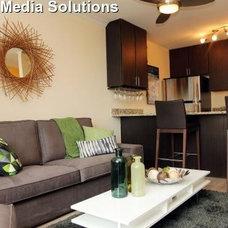 Contemporary Living Room by Stephanie Lynn