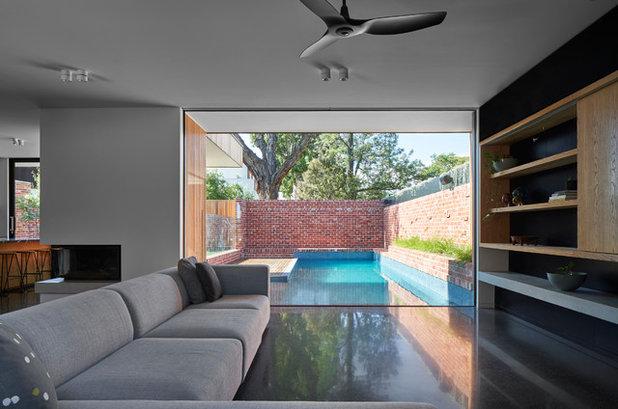 Modern Wohnbereich by Melbourne Design Studios (MDS)