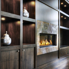 contemporary living room by Braam's Custom Cabinets